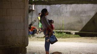 жительница Гондураса