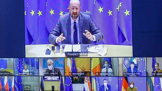 نشست مجازی سران اتحادیه اروپا