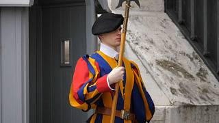 AP - Swiss guard in Vatican