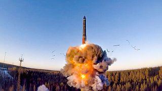 موشک بالیستیک روسیه