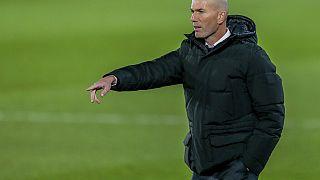 RealMadrid-Trainer Zinédine Zidane