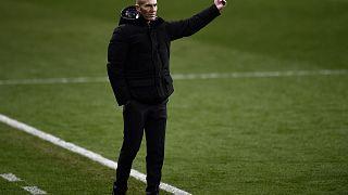 Ο προπονητής της Ρεάλ Μαδρίτης Ζινεντίν Ζιντάν