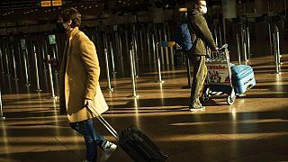 Am Flughafen Zaventem in Belgien