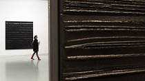 A Soulages painting that belonged to Leopold Senghor is up for auction