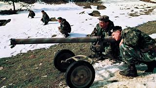 Bosnalı askerler / Arşiv 1993