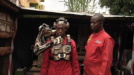 The story of Kenya's two young inventors bio-robotic prosthetic arm