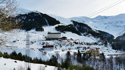 Brezovia is Kosovo's most popular ski resort - but like many other European slopes, it's felt the hit from COVID-19