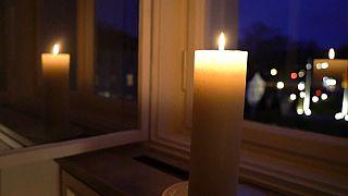 Die Kerze im Fenster von Schloss Bellevue