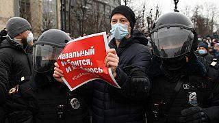 Les Russes appelés à manifester en soutien à Alexei Navalny