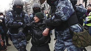 Arrestation d'un pro-Navalny en Russie
