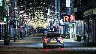 Polizei während Lockdown in Oberhausen (Symbolbild)