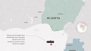 Türk gemisi Nijerya açıklarında korsan saldırısına uğradı