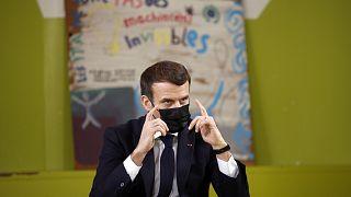 Fransa'da Cumhurbaşkanı Emmanuel Macron