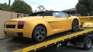 صادرت الشرطة الهولندية سيارة المهرب