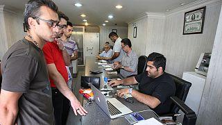 خرید و فروش ارز در یک صرافی؛ تهران