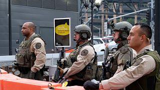 Los Angeles County Sheriff's deputies