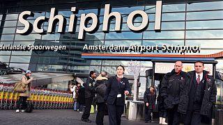 Hollanda'nın Schiphol Havalimanı