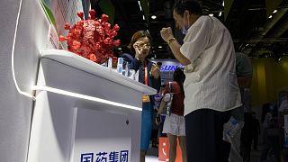 Çin'de bir test merkezi