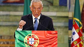 Marcelo Rebelo de Sousa andou à noite às voltas em Lisboa, à espera que os candidatos derrotados fizessem os discursos