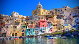 The colourful island is the new Italian City of Culture for 2022.