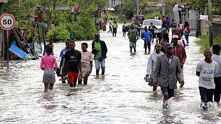 "Мозамбик под ударом циклона ""Элоиза"""