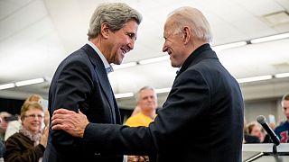 John Kerry and Joe Biden