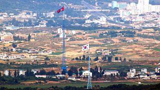 مرز کره شمالی با کره جنوبی