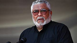Ghana's ex-president JJ Rawlings laid in state