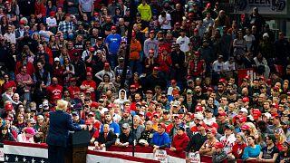 سخنرانی دونالد ترامپ در جمع هوادارانش