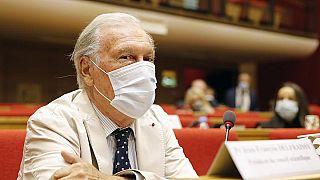 جون فرانسوا دلفريسي رئيس المجلس العلمي الذي يقدم المشورة للحكومة الفرنسية بشأن أزمة فيروس كورونا