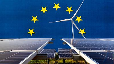 Wind and solar power helped push the EU past the milestone.