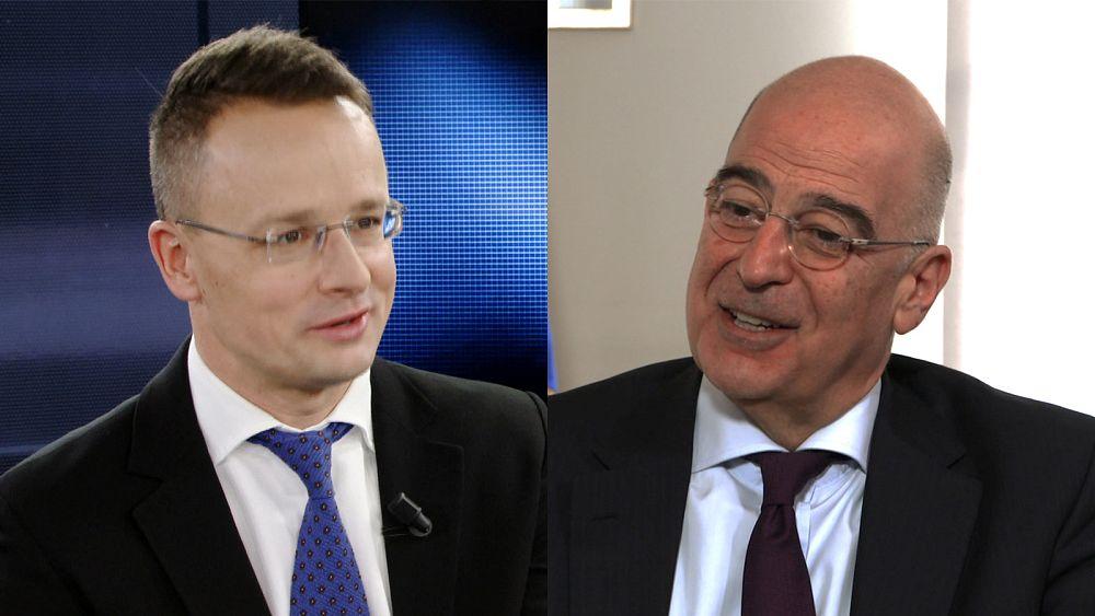 Οι Υπουργοί Εξωτερικών της Ελλάδας και της Ουγγαρίας στο Euronews