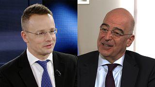 Главные дипломаты  Венгрии и Греции о самом главном