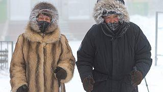 Nicht ohne Pelzmantel: - 50 Grad in Jakutsk