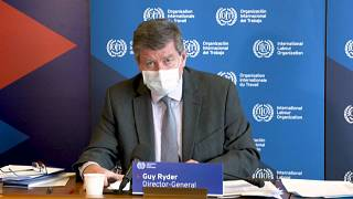 Guy Ryder, director general de la OIT