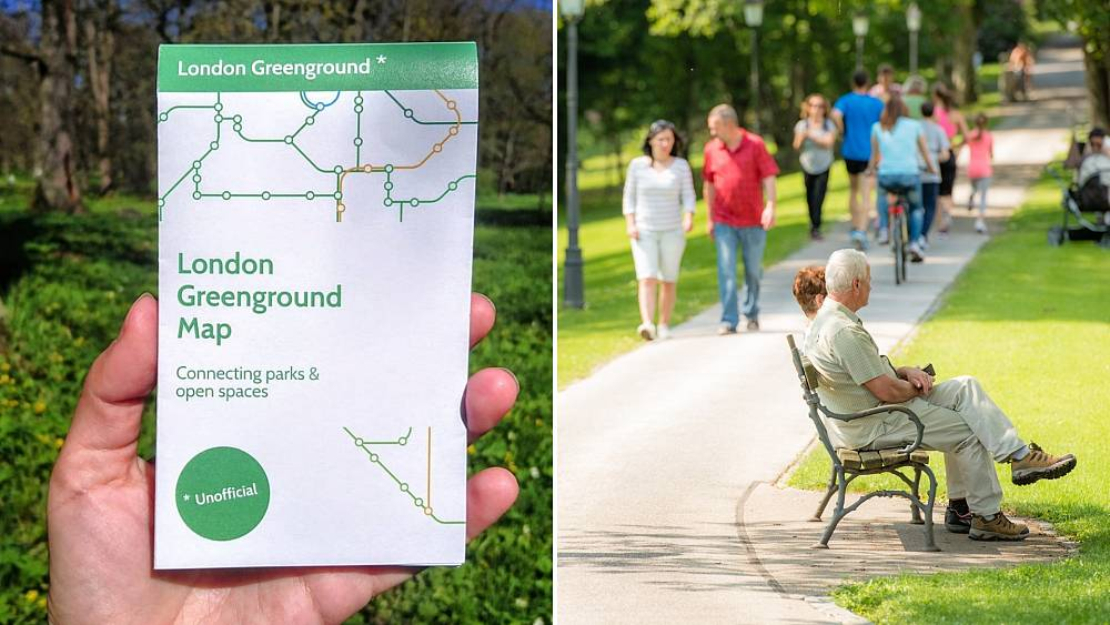 What is the new London Greenground map?