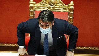 Giuseppe Conte im Parlament