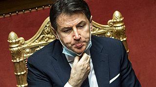 Джузеппе Конте намерен покинуть пост премьера Италии во вторник