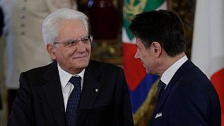Sergio Matarella já recebeu em mãos a demissão de Giuseppe Conte