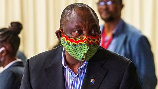 Güney Afrika Cumhuriyeti Devlet Başkanı Cyril Ramaphosa