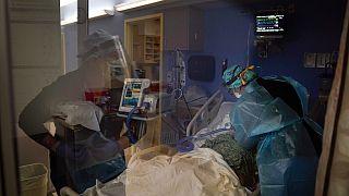 Imagen de archivo de un hospital en California.