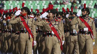 Inde : cérémonie et parade militaire pour le Jour de la République