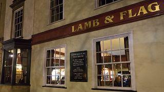 A Lamb & Flag pub