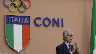 Giovanni Malagò, presidente del Coni, in una foto del 2016