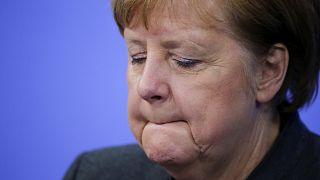 El 'mea culpa' de Angela Merkel en el Foro de Davos por la gestión de la pandemia en Alemania