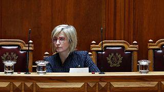 La ministra de Sanidad de Portugal, Marta Temido
