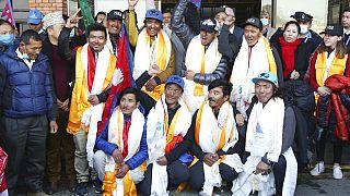 Os heróis da escalada invernal da K2