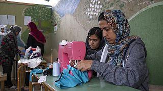 Greece Migrants Virus Outbreak