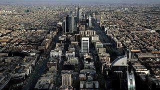 نمایی هوایی از شهر ریاض