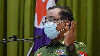 Myanmar Ordu sözcüsü general Zaw Min Tun